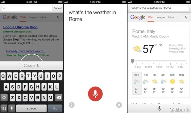 chromeiosvoicesearch
