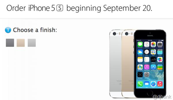 iphone5sorder