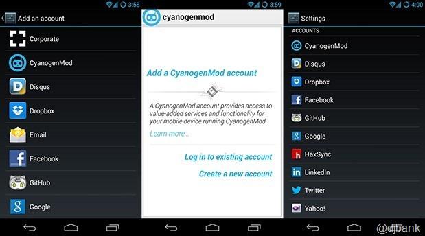 cyanogenmod-account